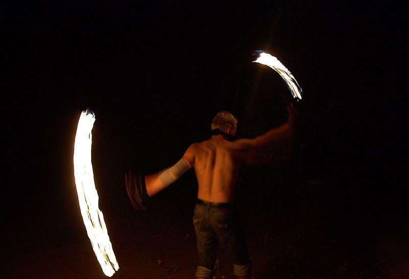 Огненное шоу в Балаково