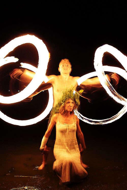 огненное шоу Балаково
