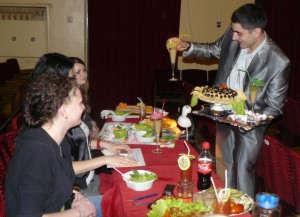Кулинарные изыски в этот вечер ложились на стол жюри