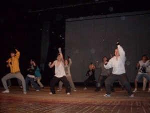 танцевальный коллектив из политехнического техникума