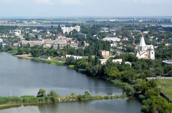 город Балаково - фото с неба