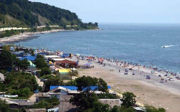 Дагомыс - пляж
