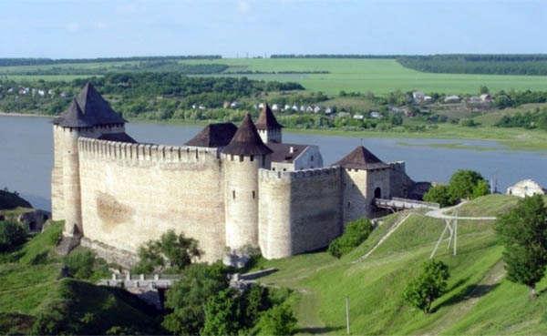Хотинская крепость на Украине