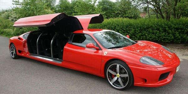 Ferrari длиной 7 метров