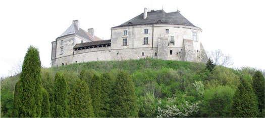 Олеский замок на Украине