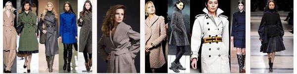 пальто молодых женщин