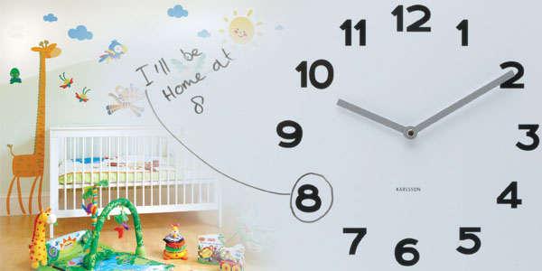 детское время на часах