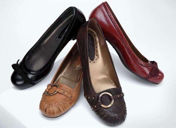 вариант женской обуви