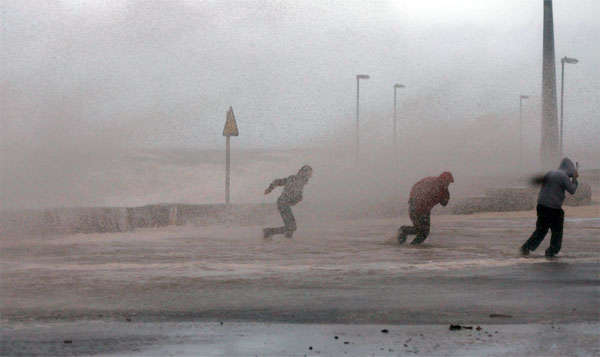 циклон с моря