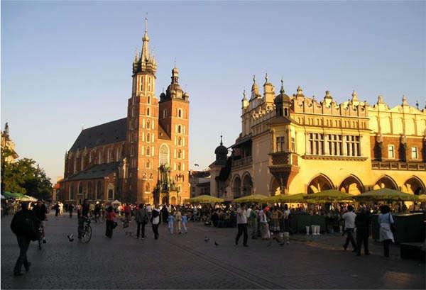 Польша - отдых людей