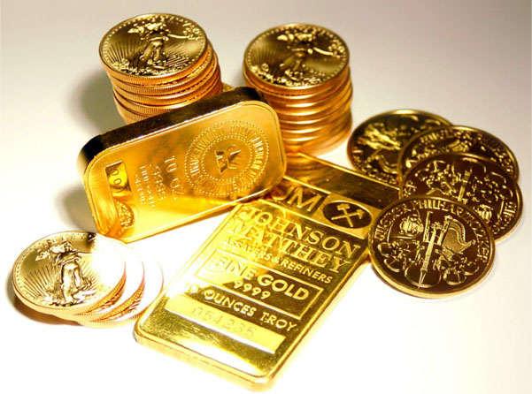 Уникальное золото