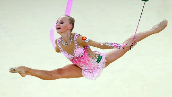 гимнастка Яна Кудрявцева
