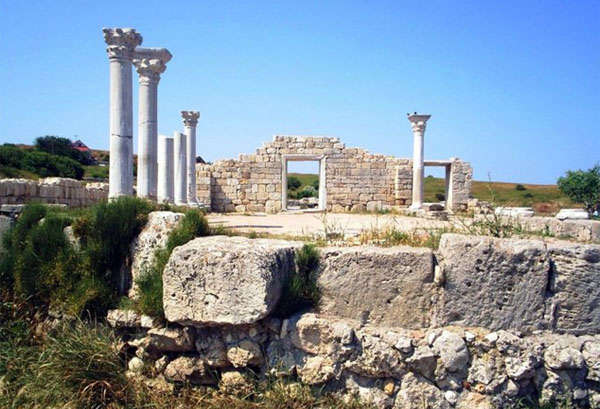 Греция из руин