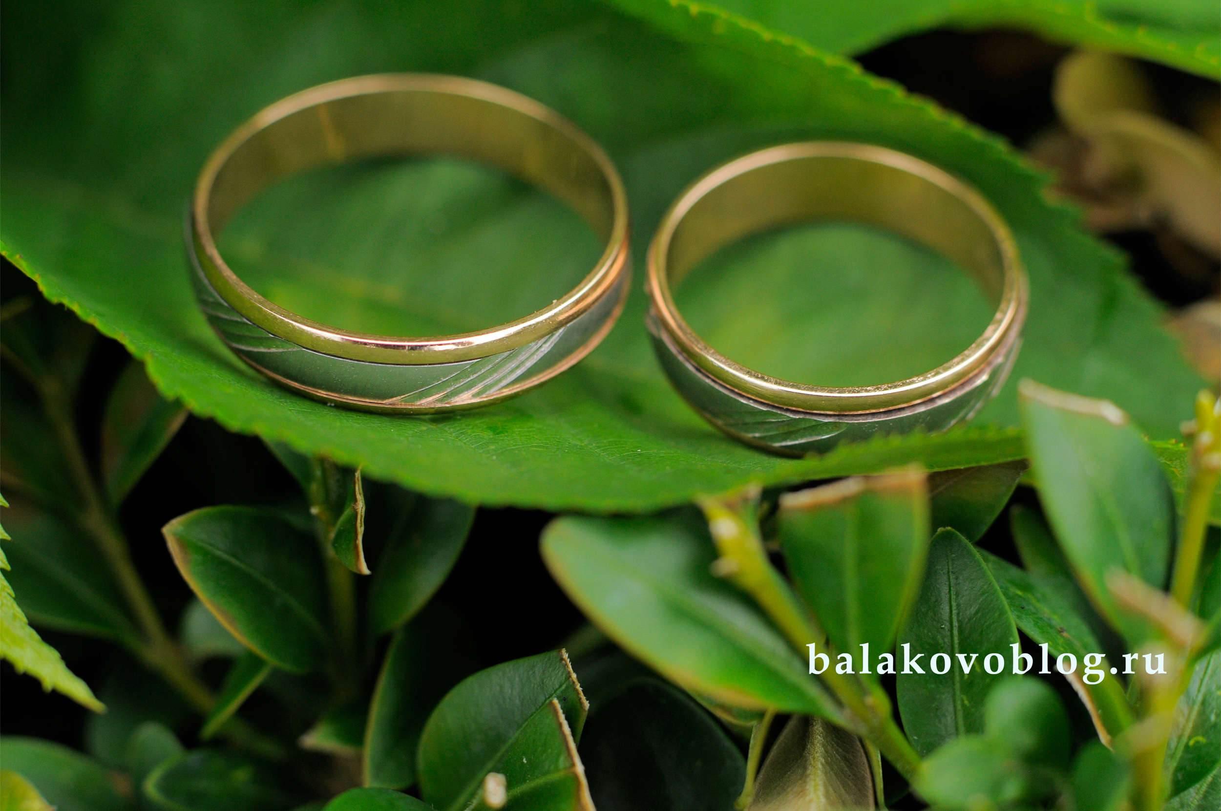 Загс Балаково - обручальные кольца