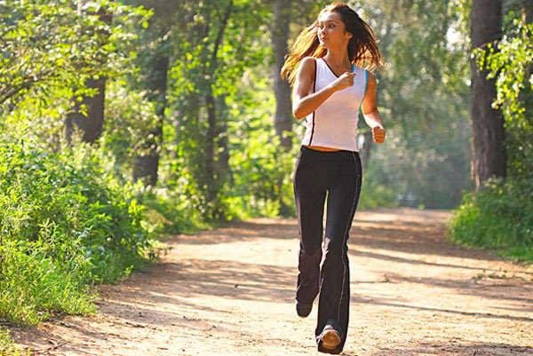 бег - для женской красоты