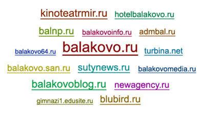 Сайты Балаково