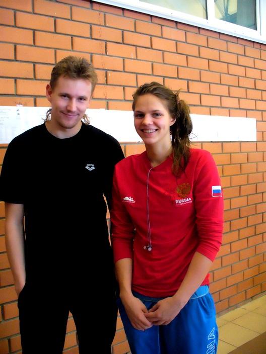 Илья Гришин, Юлия Ефимова (ЧМ по плаванию)