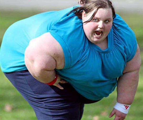 Вес девушки неограничен