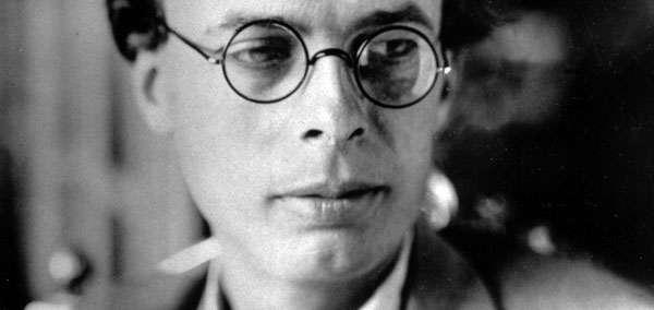 Писатель Олдос Хаксли