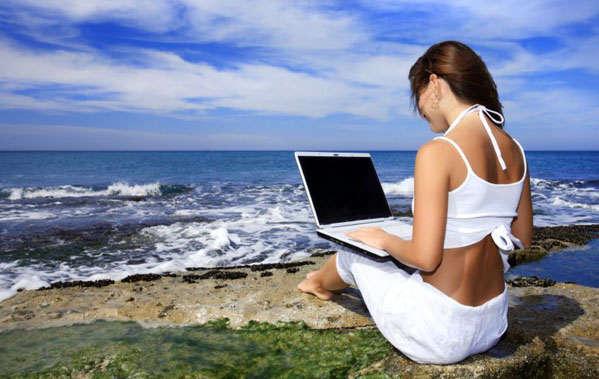 wi-fi на берегу моря